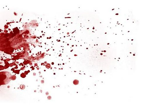удалить свежие кровяные пятна