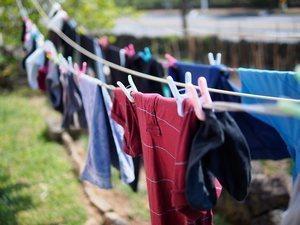 правильная сушка белья и одежды