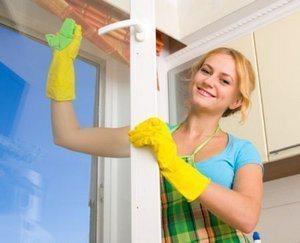 порядок мытья окна