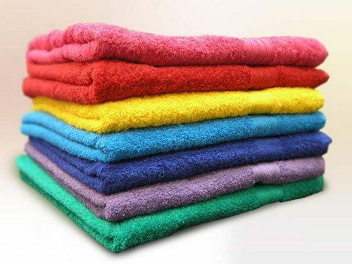 Как отстирать и отбелить застиранные махровые полотенца