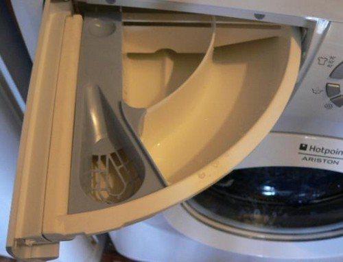Лоток для порошка в стиральной машине: как почистить