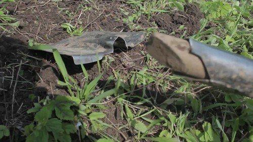 Ремонт лопаты сваркой