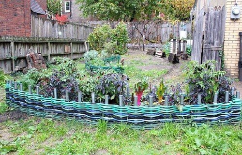 Плетеная ограда